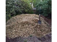 FREE- WOOD CHIP -FREE DELIVERED