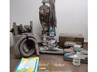Kirby Sentria II Vacuum cleaner system with full carpet cleaning tools