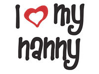 Live-out Nanny wanted in Chiswick W4 (Mon - Fri)