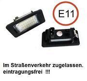 BMW E90 Kennzeichenbeleuchtung