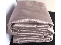 Laura Ashley 100% Silk Curtains Amethyst
