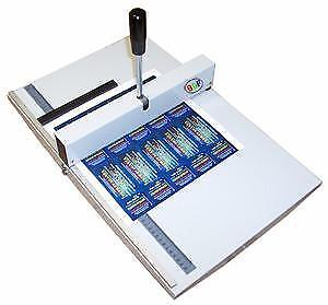 New 14 Paper Perforator perforating tickets, RSVP cards, invoices