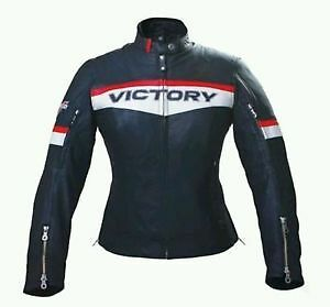 2863214VIctory Motorcycle Womens Brand Jacket XL-2XL