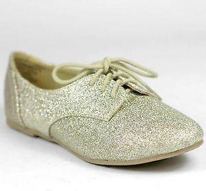 a24da38a8e41 Girl s Gold Glitter Shoes