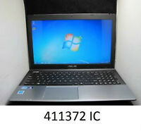 ASUS Laptop with Intel core i5 Processor:  Windows 7: Inc. CASE!