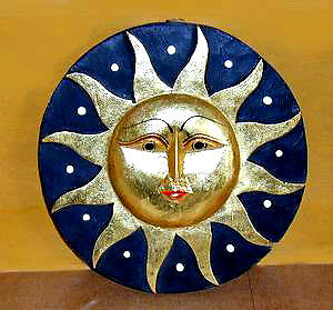 double sided Sun & Moon mobile plus 2 small ones ... take a look Cambridge Kitchener Area image 1