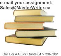 School Writing & Editing and Proofreading Services