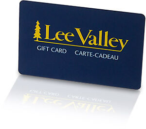 Lee Valley Gift Card(s)