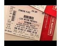 1x Kasabian Ticket - Motorpoint Cardiff - 4th Dec