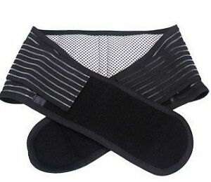 Infrared-Magnetic-Back-Support-Lumbar-Brace-Belt-Double-Pull-Strap-Lower-Pain
