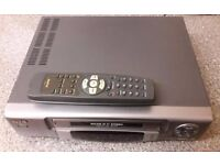 VHS video recorder, with remote control