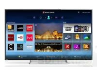 """Toshiba 55"""" LED Full 3D Smart TV Amazing slim design fast processor crystal picture and sound"""