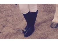 Size 6 horse riding boots