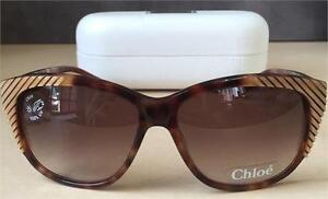 NEW Genuine Chloe Sunglasses CL 2246 Havana CO2-140 60mm
