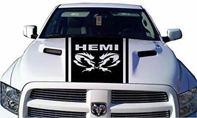 Dodge Ram 1500 2500 350 Hemi hood decal Decal Racing Vinyl Stripes Sticker #11