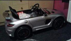 Mercedes sls amg ride on car