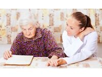 Carers required in Borehamwood, Elstree and surrounding areas