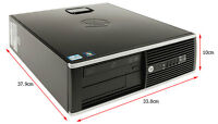 HP 8200 Elite Desktop with Intel i5 Quad Core processor @3.7Ghz