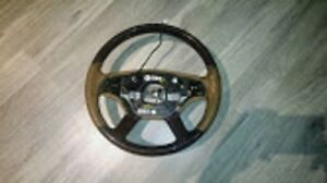 2007 - 2009 Mercedes S550 Wood Grain Steering Wheel - $400
