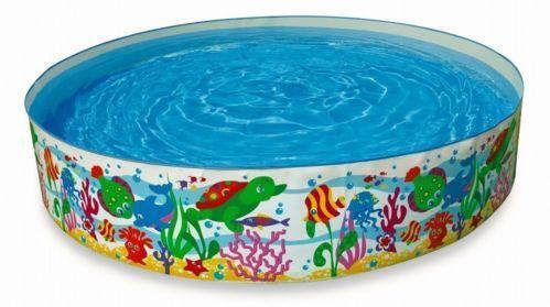 Hard plastic pool ebay for Koi pond plastic pool