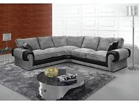 exclusive jumbo corner sofa brand new