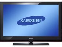 """SAMSUNG 32 """" INCH LCD TV WITH BUILT IN FREEVIEW IN VERY GOOD WORKING ORDER ##CAN BE DELIVERED##"""