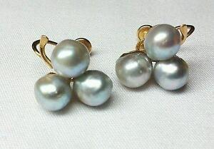 14k South Sea Pearl Earrings