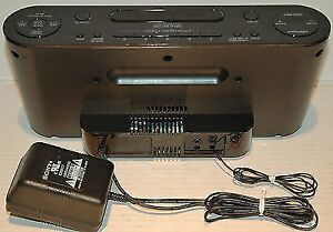 Sony ICF-CS10iPBLK iPod + iPhone Speaker Dock/Clock Radio