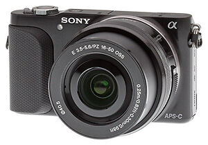 Sony NEX 3N  with external charger