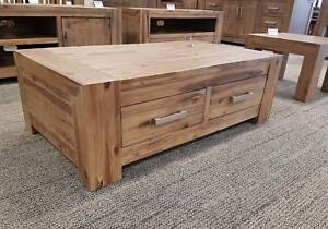 RRP$449 Empire Ash Grey 4 Drawer Coffee Table FACTORY DIRECT