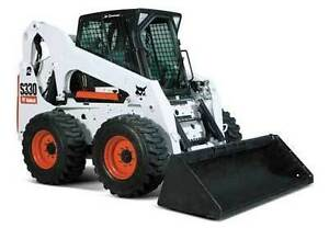 BOBCAT S330 SKID STEER LOADER RENTAL FREE DELIVERY IN CALGARY