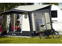Isabella Magnum 250 Caravan or Motorhome Porch Awning and Windbreak