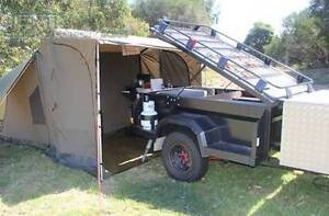 Oztent RV5 With side Panels Romsey Macedon Ranges Preview