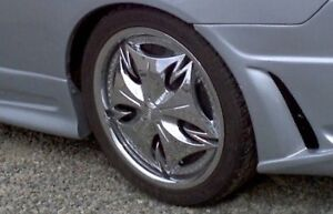 DUB rim 4 bolts with spinner (4 set)