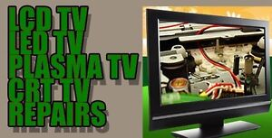 TV repairs *Authorized warranty repairs to most makes*