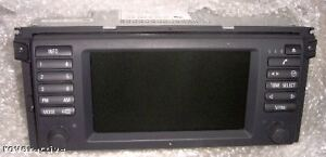 BMW Genuine E39 DVD Navigation System with Monitor NEW