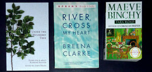 3 books: Under the Mulberry Tree: River Cross My Hear: Tara Road