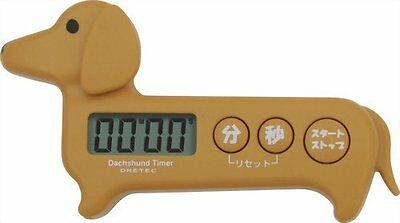 Doggie timer Dachshund dog Brown T-188BR
