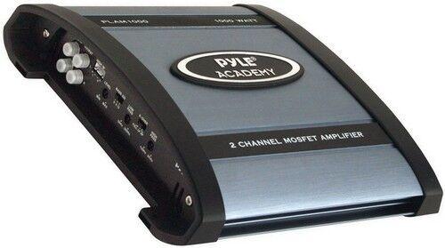 pyle plam1000 academy 2 channel 1000 watt amplifier. Black Bedroom Furniture Sets. Home Design Ideas