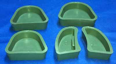 5 Silicon Base Molds For Your Dental Lab Vertex Articulators