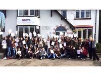 FREE English Classes in Stratford-upon-Avon Improve FLUENCY, GRAMMAR, LISTENING, VOCABULARY etc.