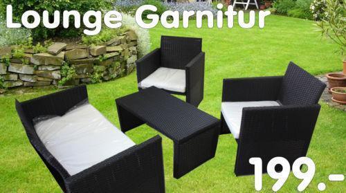 Lounge garnitur ebay for Lounge garnitur terrasse