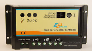 Dual battery solar charging package!