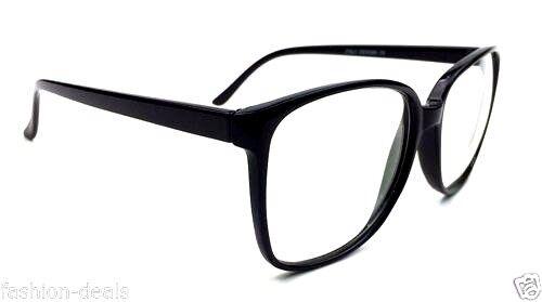 b74583e6ae0 Ободок для очков Retro Vintage Huge Big Oversized Square Black Frame Women  Men Eyeglasses Glasses - 252627386089 - (США)