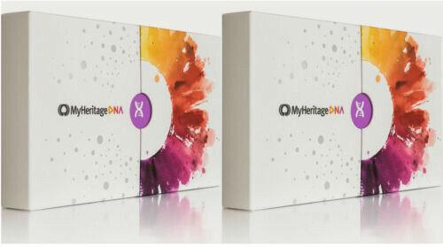 MyHeritage DNA Test Kit - Ancestry & Ethnicity Genetic Testing. Brand New 2 Box