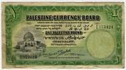 Palestine Banknote