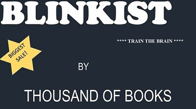 BLINKIST Premium Subscription (2 years Warranty)  LIMITED PERIOD OFFER!!!!!!!!!!