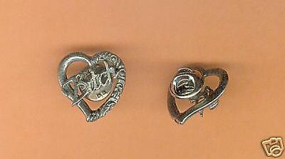 12 wholesale lead free pewter bitch pins A1086
