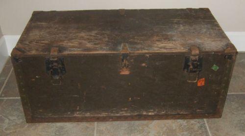army trunk ebay
