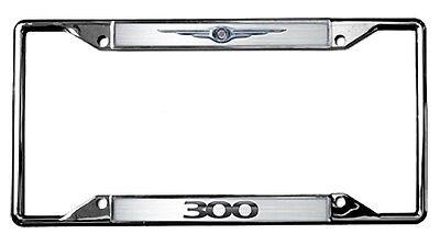 New Chrysler Logo 300 License Plate Frame ()